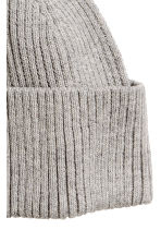 Ribbed hat - Grey marl - Men | H&M 2