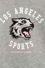 Printed sweatshirt - Grey/Los Angeles -  | H&M 3