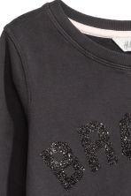 Printed sweatshirt - Dark grey/Bronx - Kids | H&M 3