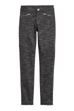 Treggings - Black marl - Kids | H&M CN 1