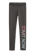 Leggings - Dark grey marl -  | H&M 2