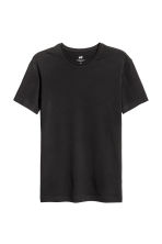 2-pack T-shirts Slim fit - Black - Men | H&M CN 3