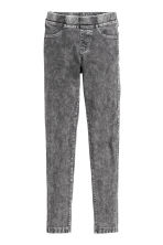 Treggings - Dark grey washed out - Kids | H&M CN 2