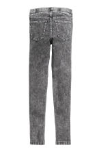 Treggings - Dark grey washed out -  | H&M 3