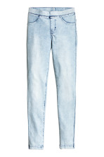 Pale denim blue