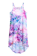 Patterned jersey dress - Pink/Purple - Kids | H&M CN 2