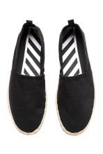 Espadrilles - Black - Men | H&M 3