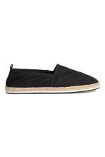 Espadrillas - Nero - UOMO | H&M IT 2