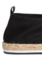 Espadrilles - Black - Men | H&M CN 5