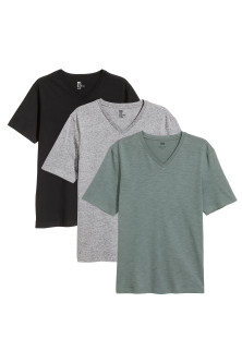 3er-Pack T-Shirts Regular Fit