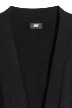 Cotton cardigan - Black - Men | H&M CN 3