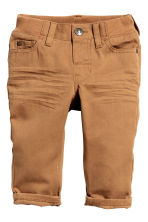 Twill trousers - Camel - Kids | H&M CN 1