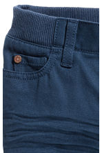 Twill trousers - Dark blue - Kids | H&M 3