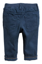 Twill trousers - Dark blue - Kids | H&M 2