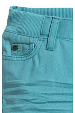 Twill trousers - Turquoise - Kids | H&M CN 2