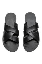 Slider sandals - Black - Men | H&M CN 2