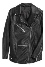 Biker jacket - Black - Ladies | H&M 4