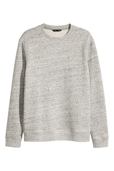 Sweatshirt - Grey marl - Men | H&M 1