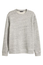 Sweat - Gris chiné - HOMME | H&M FR 1