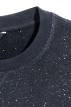 Sweatshirt - Dark blue/Neps - Men | H&M 3