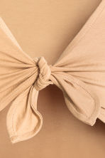 Body with tie detail - Beige - Ladies | H&M CN 4
