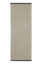 Patterned cotton rug - Natural white/Anthracite grey - Home All | H&M CN 1