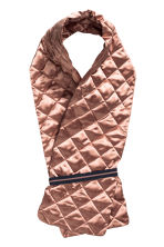 Quilted scarf - Old rose - Ladies | H&M CN 1