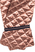 Quilted scarf - Old rose - Ladies | H&M CN 2