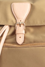 Satin backpack - Beige - Ladies | H&M CN 3