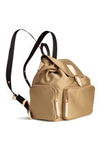 Satin backpack - Beige - Ladies | H&M CN 2