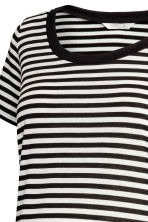 MAMA Top da allattamento - Bianco/nero righe - DONNA | H&M IT 3
