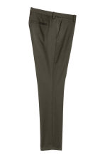 Suit trousers Skinny fit - Dark khaki green - Men | H&M 3