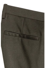 Suit trousers Skinny fit - Dark khaki green - Men | H&M CA 4