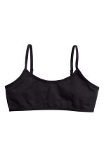 2-pack crop tops - Black - Kids | H&M 2