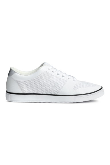 Baskets en mesh - Blanc - HOMME | H&M BE