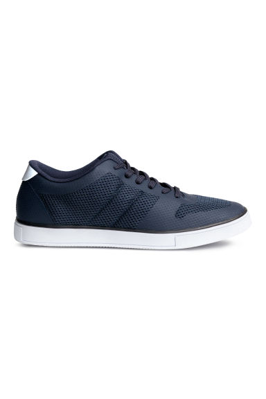 Mesh trainers - Dark blue - Men | H&M 1