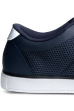 Mesh trainers - Dark blue - Men | H&M 4
