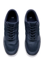 Mesh trainers - Dark blue - Men | H&M 2