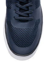 Mesh trainers - Dark blue - Men | H&M 3