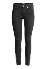 Skinny Low Jeans - Black denim - Ladies | H&M 2