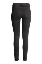 Skinny Low Jeans - Black denim - Ladies | H&M 3