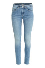 Skinny Low Jeans - Light denim blue -  | H&M 2