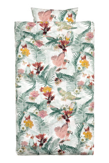 Funda nórdica estampado floral