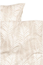 Set copripiumino con stampa - Beige chiaro - HOME | H&M IT 2
