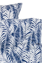 Set copripiumino con stampa - Blu scuro - HOME | H&M IT 3