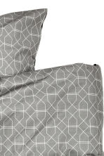 Set copripiumino fantasia - Grigio - HOME | H&M IT 3