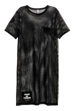 Abito in mesh - Nero - DONNA | H&M IT 2