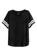 T-shirt with a motif - Black - Ladies | H&M 2