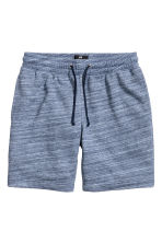 Sweatshirt shorts - Blue marl - Men | H&M 2