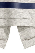 Sweat avec impression - Gris chiné -  | H&M FR 3